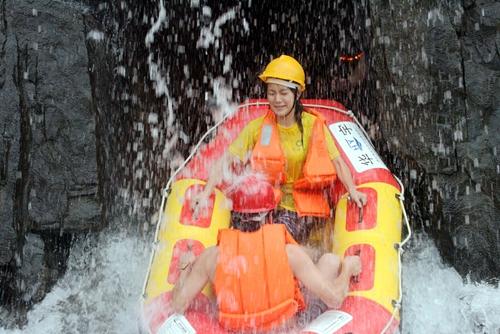 石燕湖漂流龙洞探险