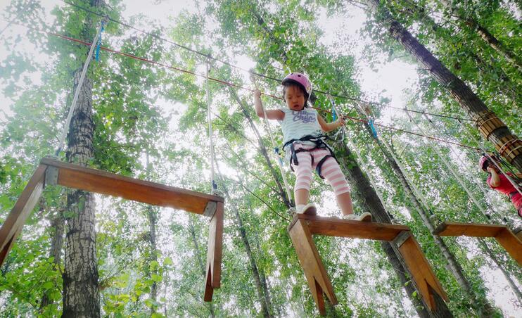 石燕湖丛林穿越!图片