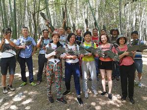 株洲市教师培训中心石燕湖一日游