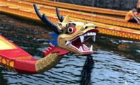 石燕湖龙舟下水仪式开启 传承文化祈福迎祥