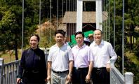 省旅发委王超祥副主任调研检查长沙石燕湖景区旅游安全工作