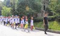 麓山成长少年营小伙伴开启石燕湖素质拓展夏令营之旅!