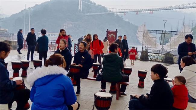 回顾一下丨春节石燕湖热闹纷繁、人气爆棚,感受浓浓儿时年味!
