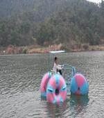 石燕湖--水上自行车