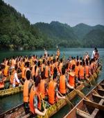 石燕湖——龙舟