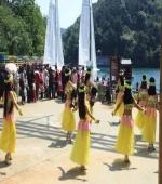 佤族舞表演